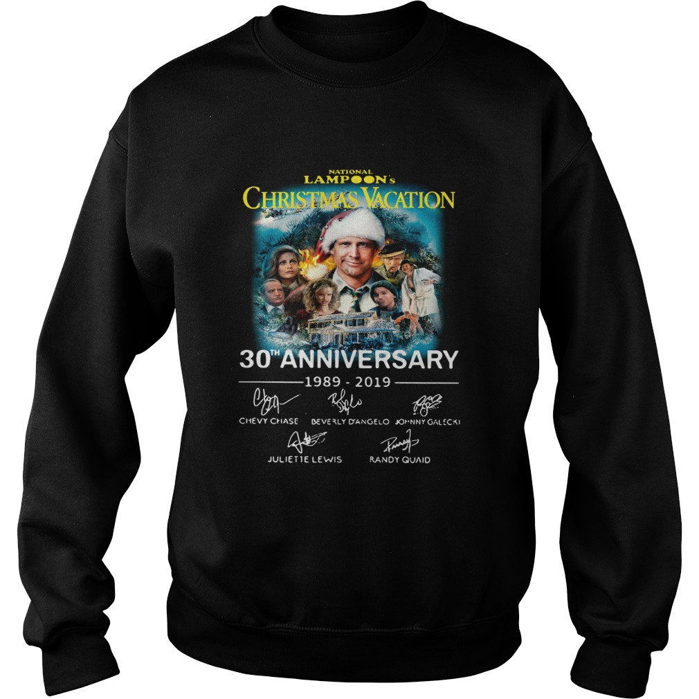 National Lampoons Christmas Vacation 30th Anniversary 19892019 Sweatshirt