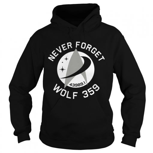 Never Forget Wolf 359  Hoodie