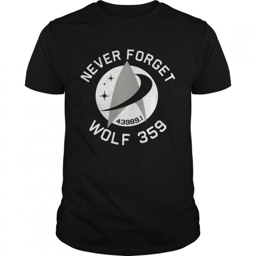 Never Forget Wolf 359  Unisex