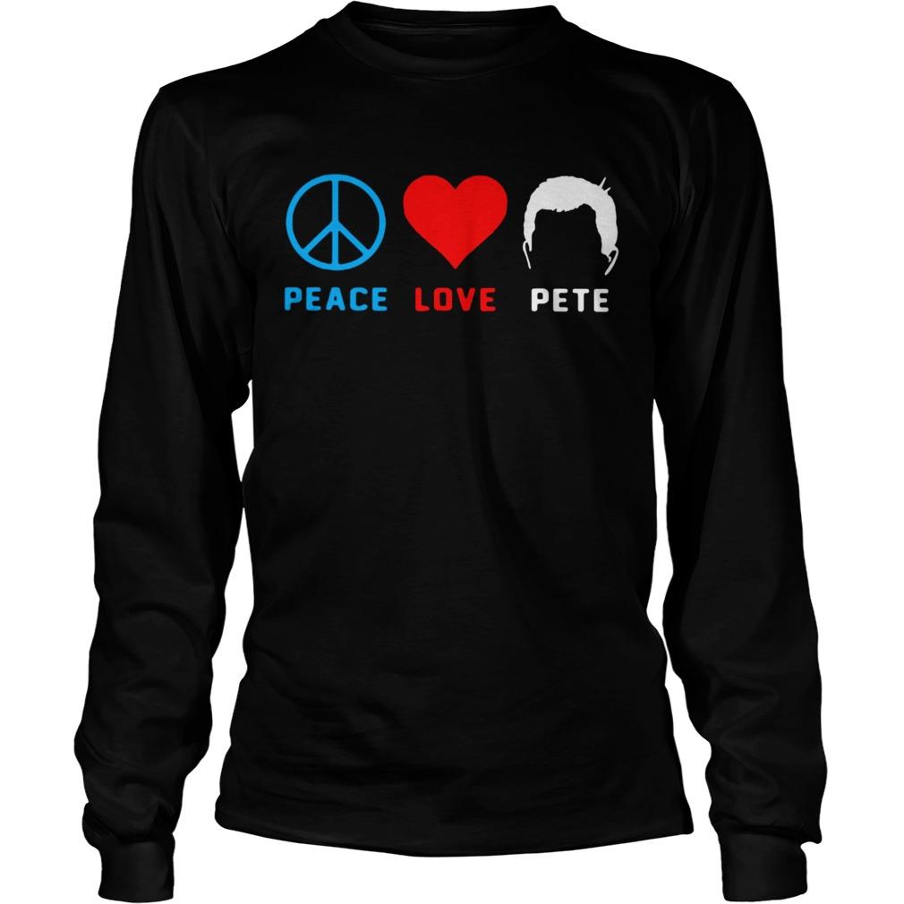 Peace love pete LongSleeve