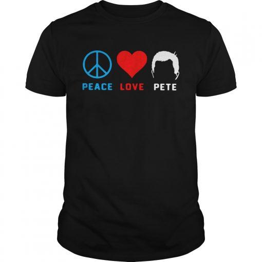 Peace love pete  Unisex