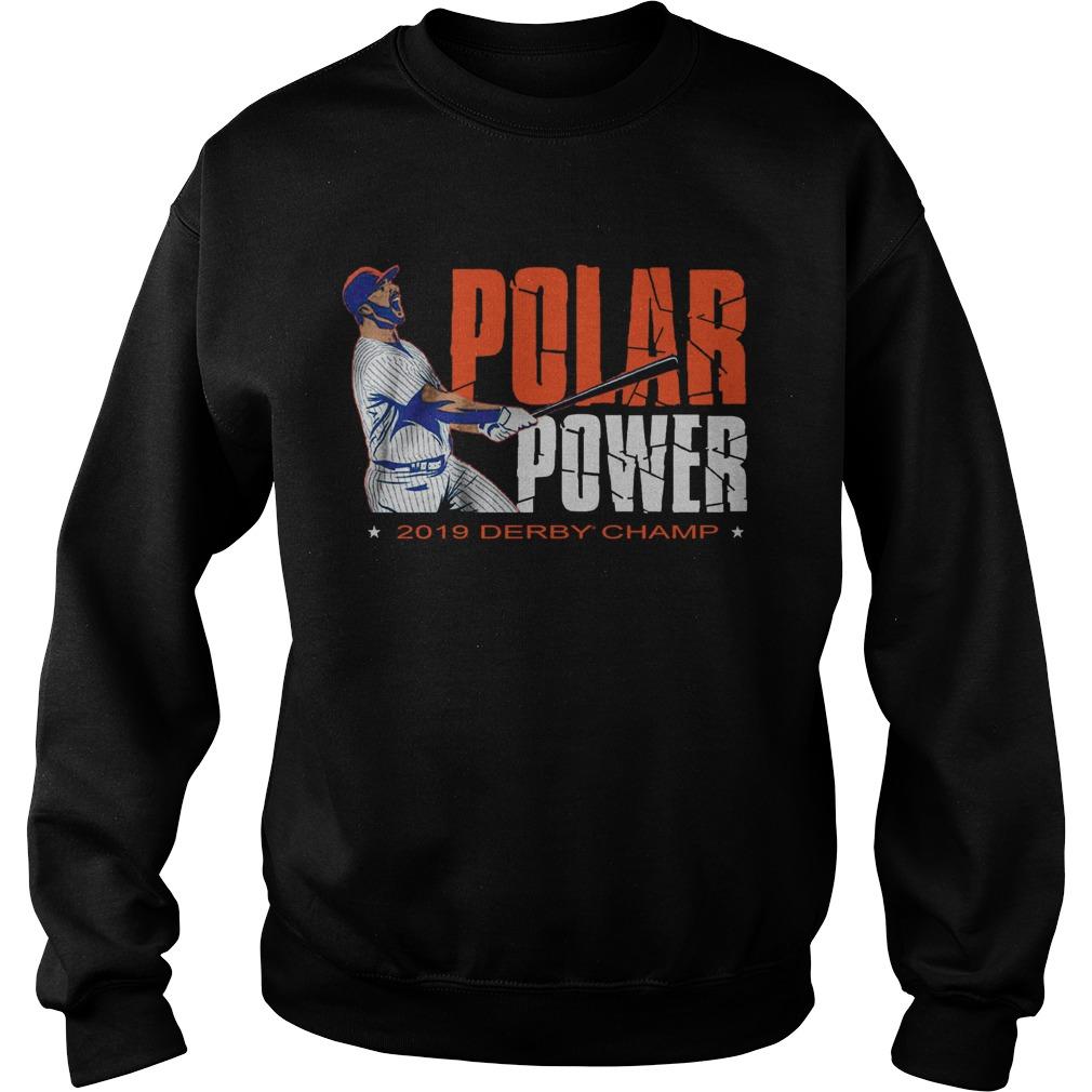 Pete Alonso Derby Polar Power Sweatshirt