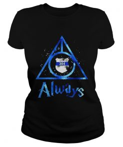 Police Badge Deathly Hallows Always Harry Potter  Classic Ladies