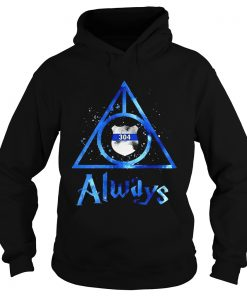 Police Badge Deathly Hallows Always Harry Potter  Hoodie