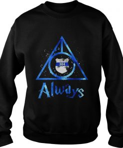 Police Badge Deathly Hallows Always Harry Potter  Sweatshirt