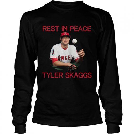 RIP Tyler Skaggs  LongSleeve