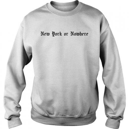 RJ Barrett New York or Nowhere  Sweatshirt
