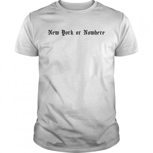 RJ Barrett New York or Nowhere  Unisex