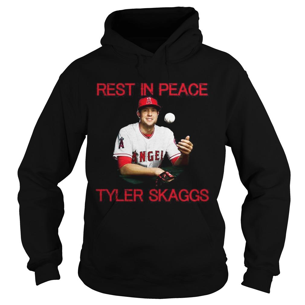 Rest in peace Tyler Skaggs Hoodie