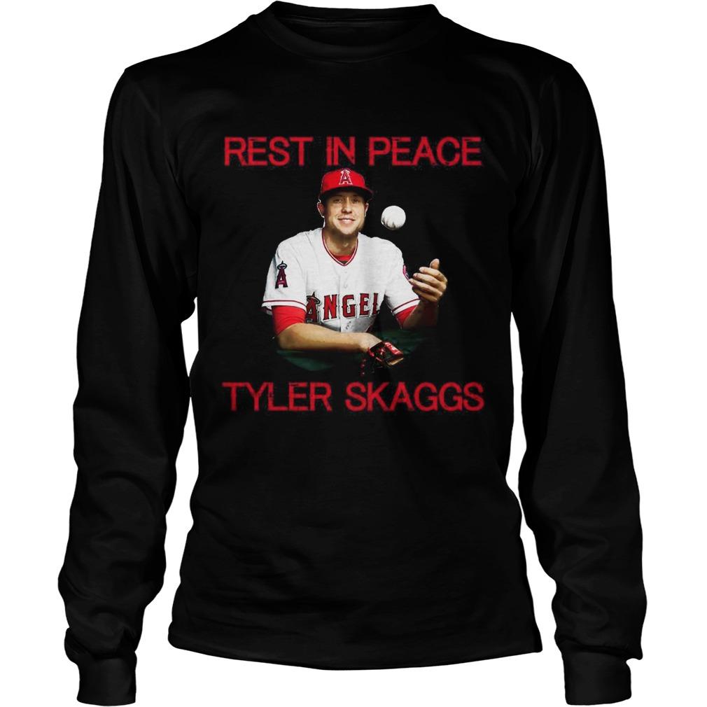 Rest in peace Tyler Skaggs LongSleeve