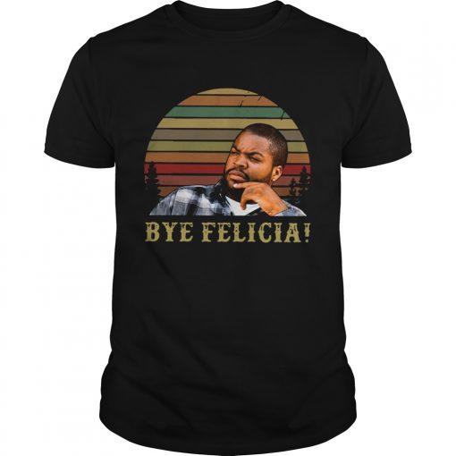 Retro Sunset Ice Cube Bye Felicia  Unisex