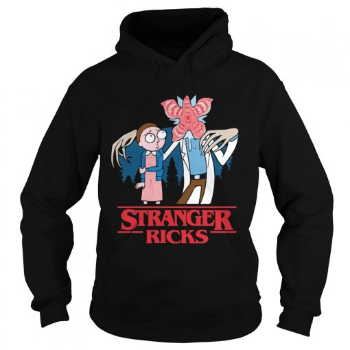 Rick and Morty Stranger Ricks  Hoodie
