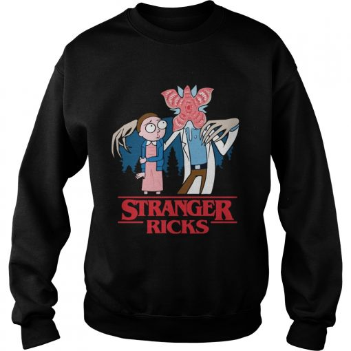Rick and Morty Stranger Ricks  Sweatshirt