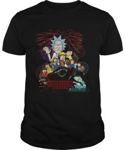 Rick and Morty Stranger Things  Unisex