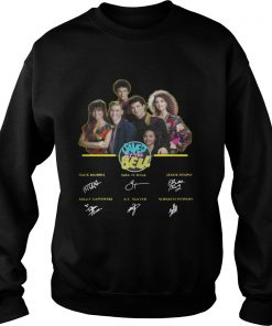 Saved by the Bell characters signature  Sweatshirt