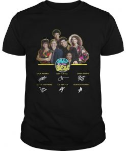 Saved by the Bell characters signature  Unisex