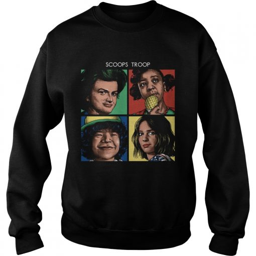 Scoops Troop Stranger Things  Sweatshirt