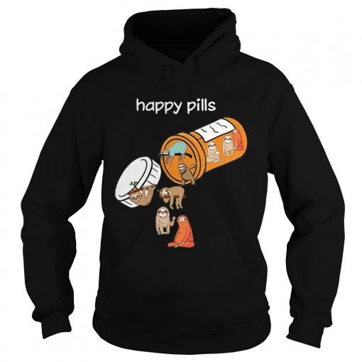 Sloth happy pills  Hoodie
