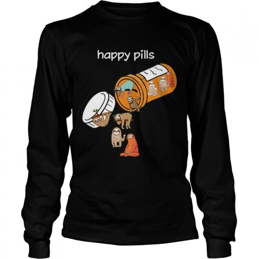 Sloth happy pills  LongSleeve