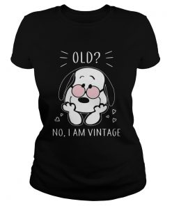 Snoopy old no I am vintage  Classic Ladies