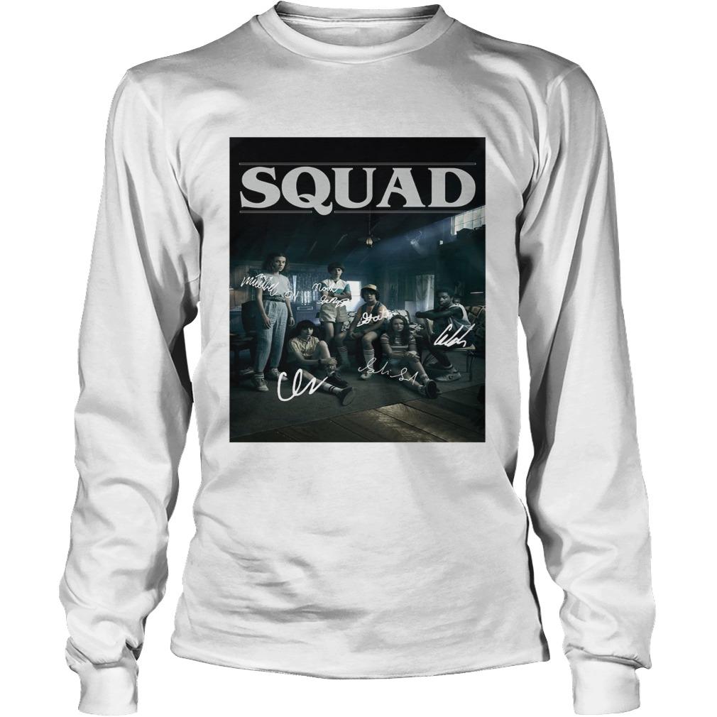 Squad Stranger Things 3 LongSleeve