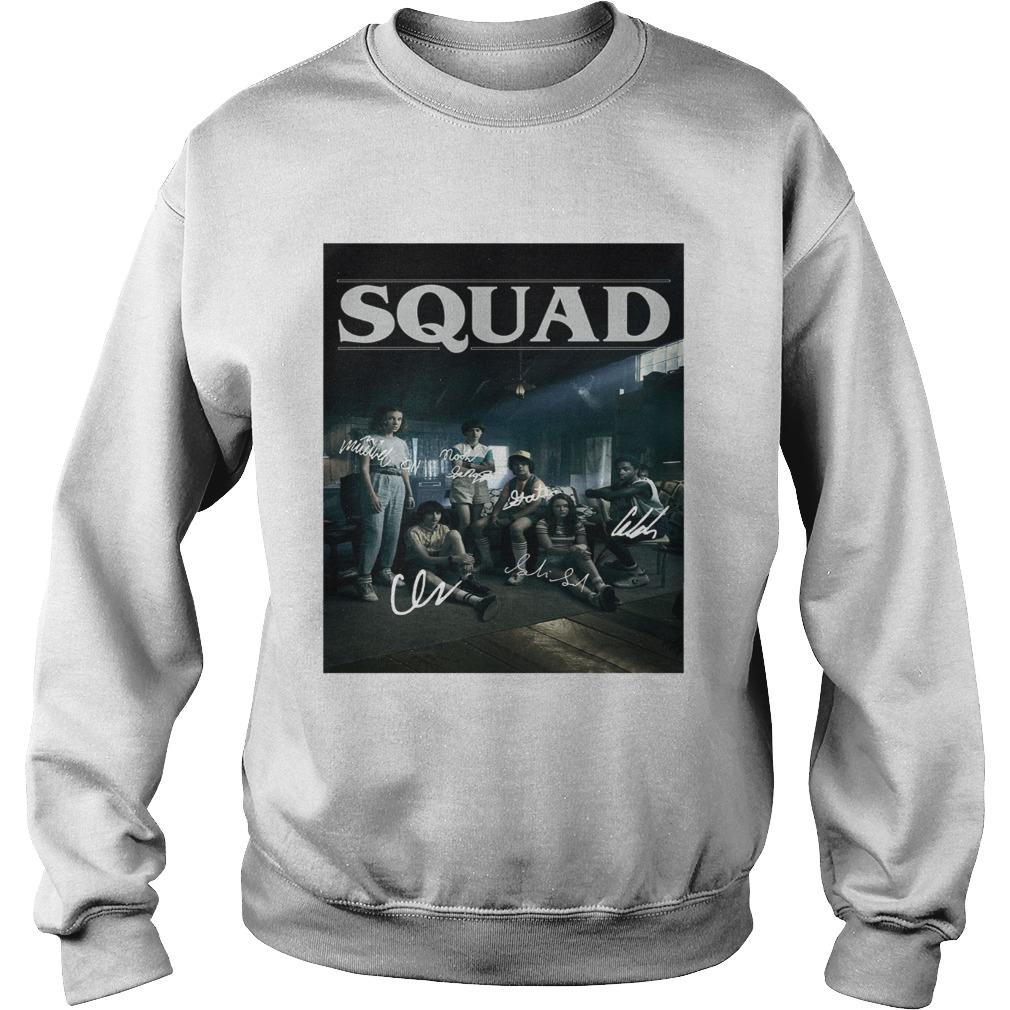 Squad Stranger Things 3 Sweatshirt