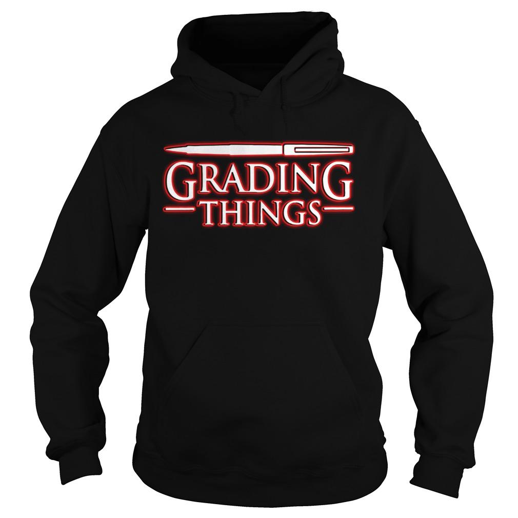 Stranger Things 3 Grading Things Hoodie