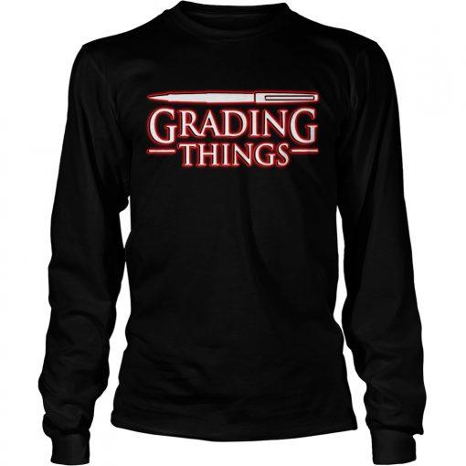 Stranger Things 3 Grading Things  LongSleeve