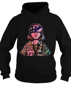 Stranger Things Eleven Independence day 4th of July  Hoodie