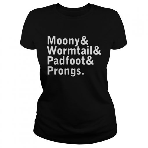 Stranger things Moony Wormtail Padfoot Prongs  Classic Ladies