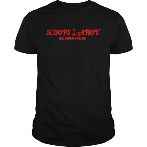 Stranger things Scoops Ahoy ice cream parlor  Unisex