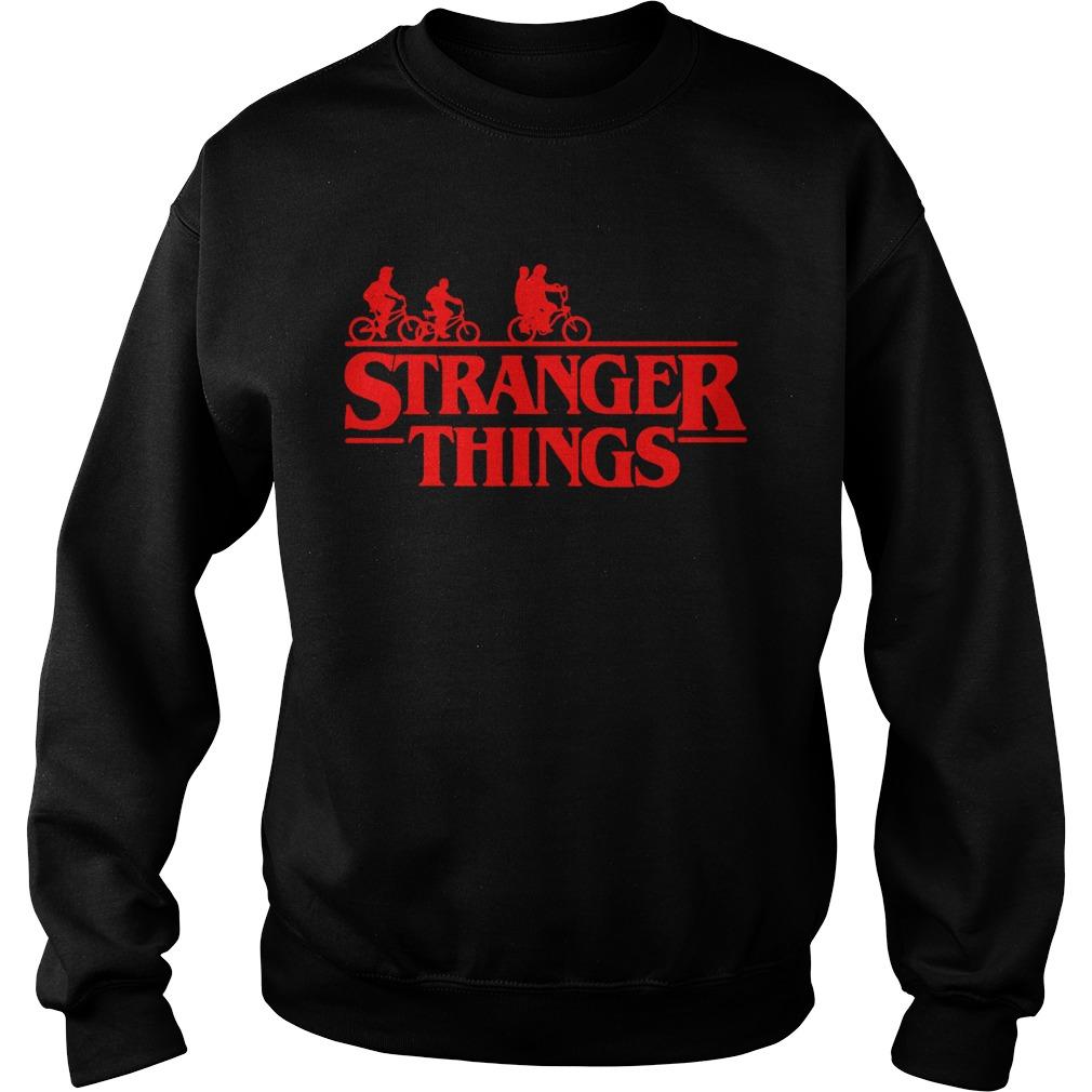 Stranger things bike rides Sweatshirt