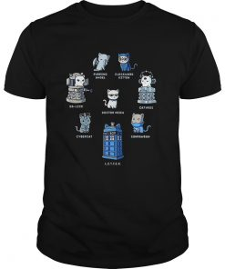 Tardis cats Doctor meow Doctor Who  Unisex