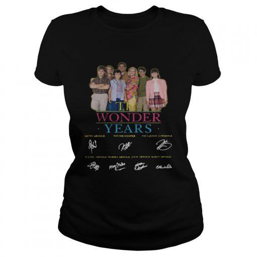 The Wonder Years signature  Classic Ladies