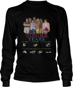 The Wonder Years signature  LongSleeve