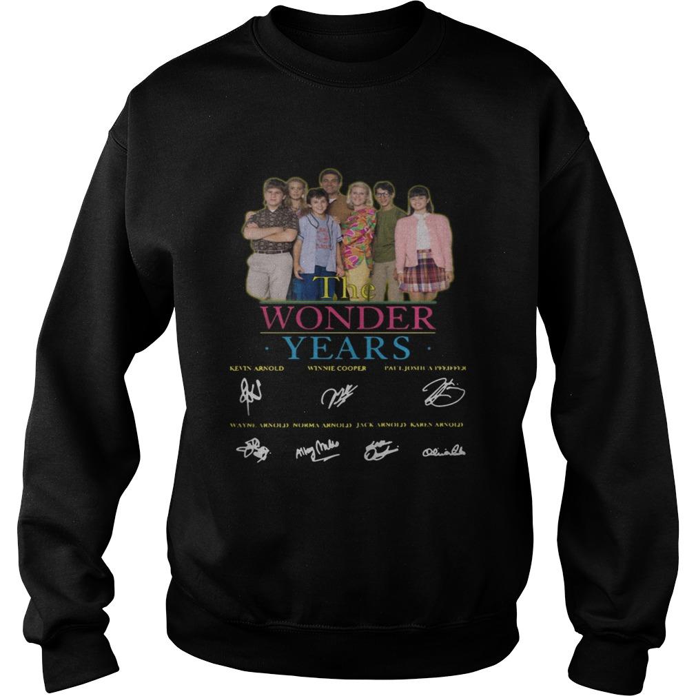 The Wonder Years signature Sweatshirt