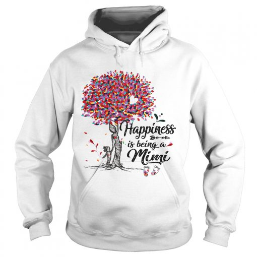 Tree happiness is being a mimi  Hoodie