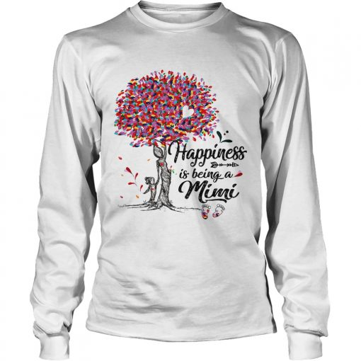 Tree happiness is being a mimi  LongSleeve