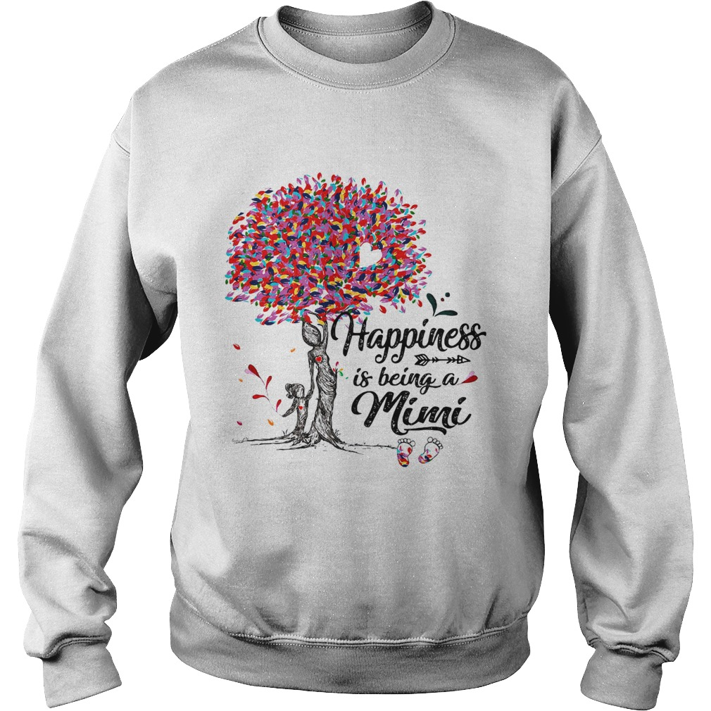 Tree happiness is being a mimi Sweatshirt