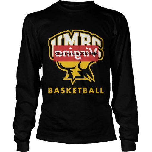 UMBC basketball VIRGINIA Champion 2019  LongSleeve