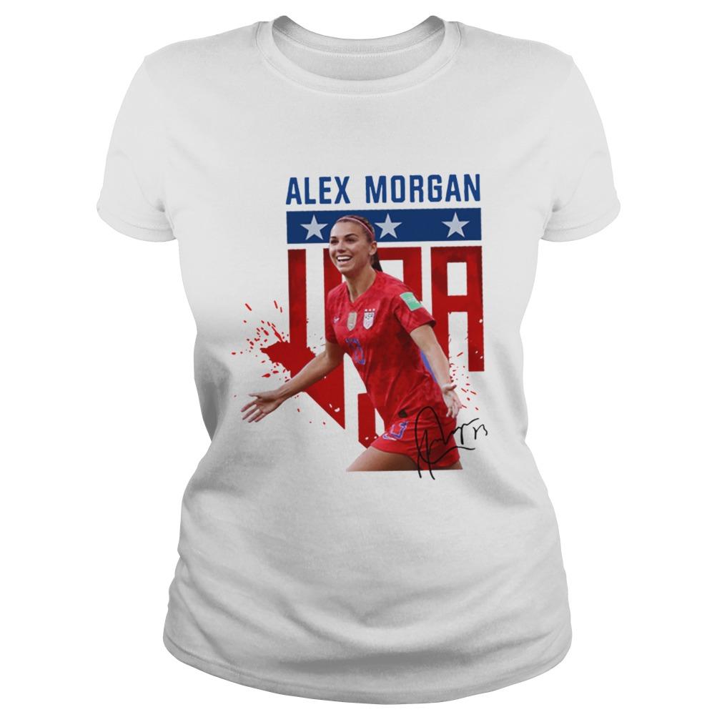 USWNT Alex Morgan 13 football Classic Ladies