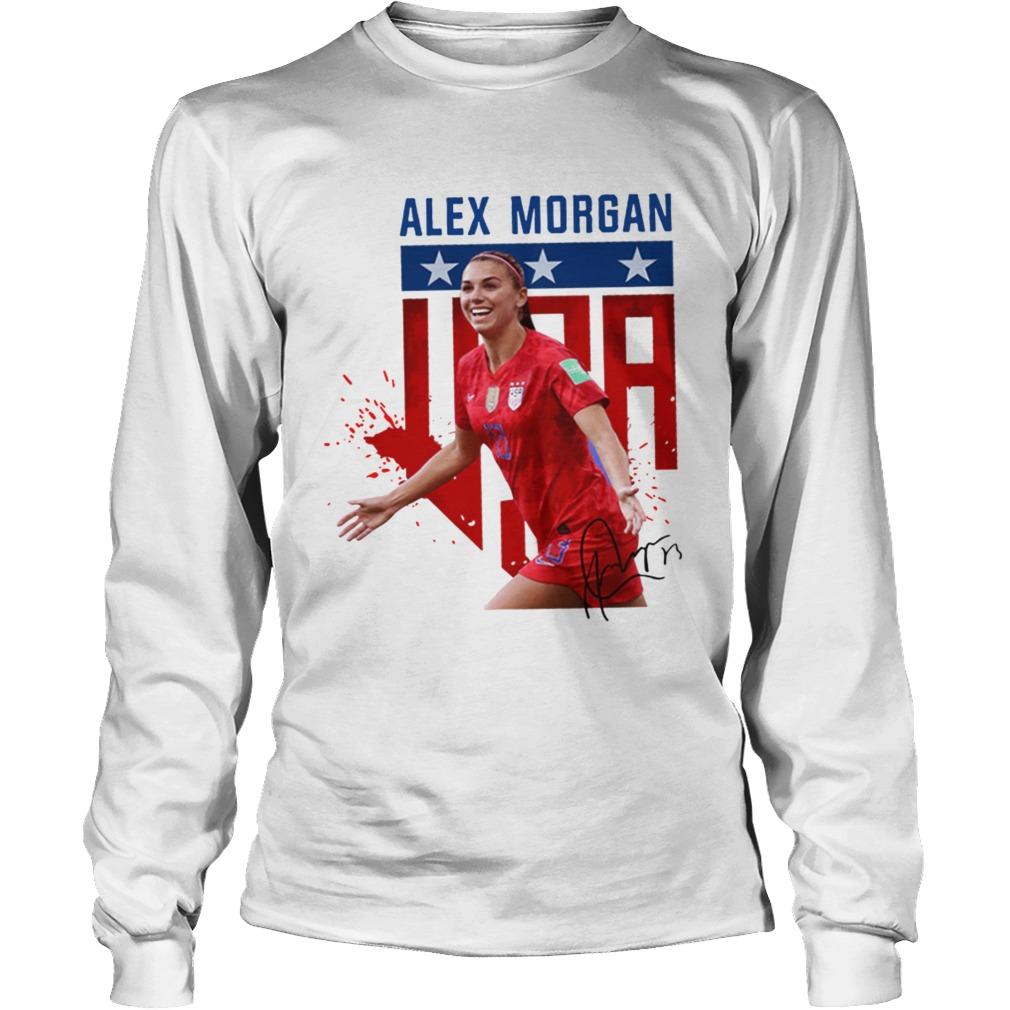 USWNT Alex Morgan 13 football LongSleeve