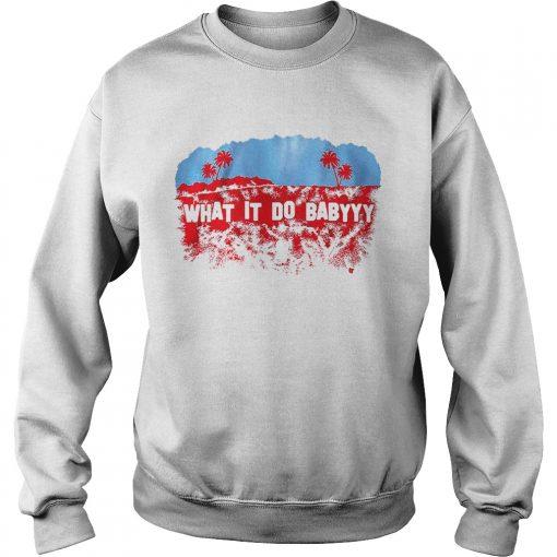 Whatit do baby Los Angeles  Sweatshirt