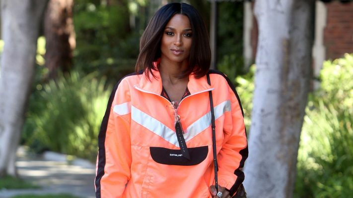 Ciara Sheds Her Body-Con Style for a Surprising Throwback Look