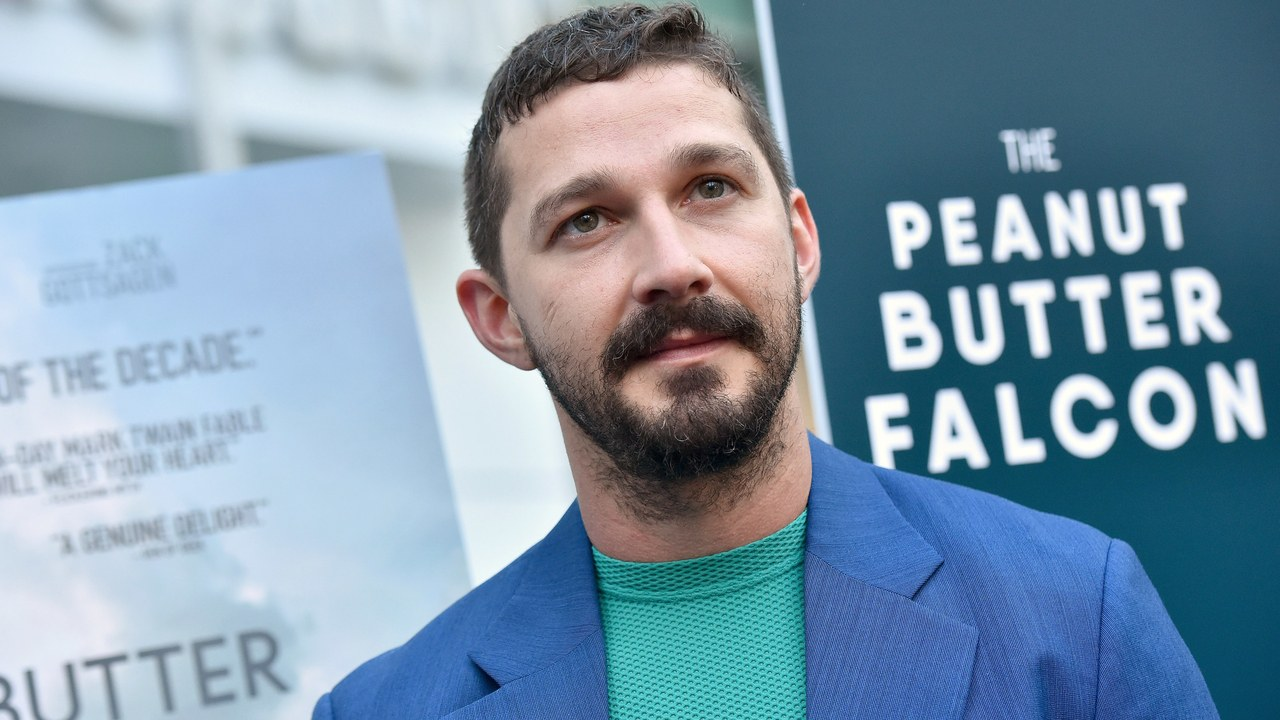 Shia LaBeouf Upgrades a Classic Suit With a Skin-Tight Tee