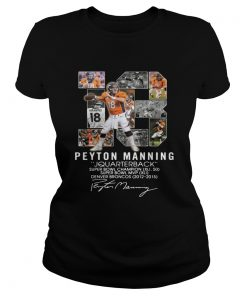 13 Peyton Manning quarterback super bowl champion  Classic Ladies