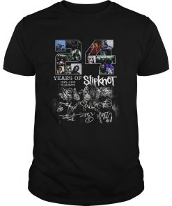 156618886524 years of 1995 2019 12 albums Slipknot signature Halloween  Unisex
