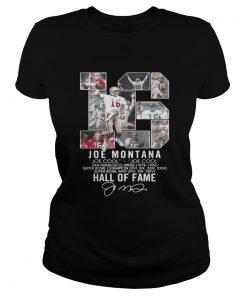 16 Joe Montana Joe cool San Francisco 49ers 1979 1992 Hall of fame  Classic Ladies