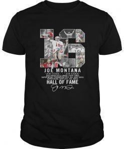 16 Joe Montana Joe cool San Francisco 49ers 1979 1992 Hall of fame  Unisex