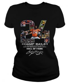 24 Champ Bailey Broncos Hall Of Fame  Classic Ladies